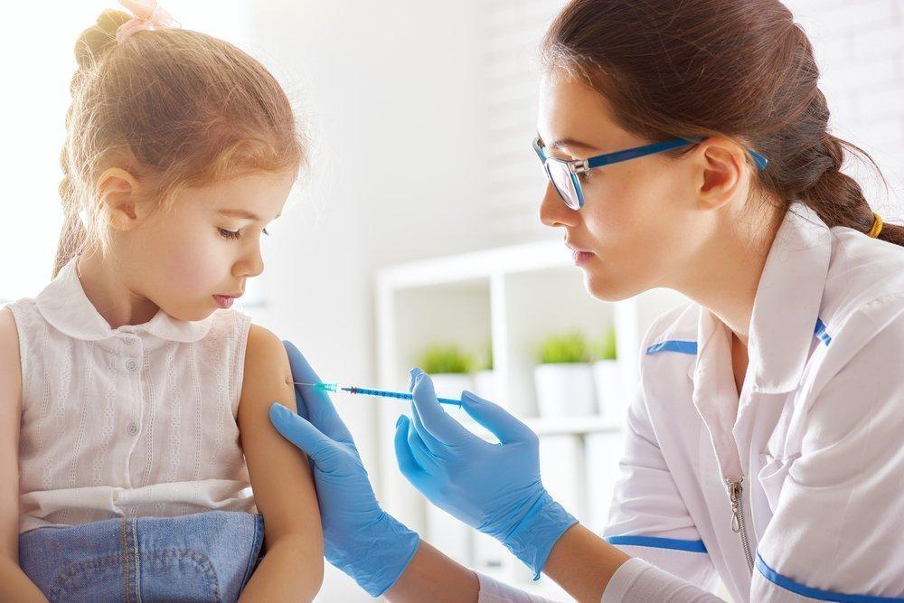 Вакцинация дошкольников и школьников