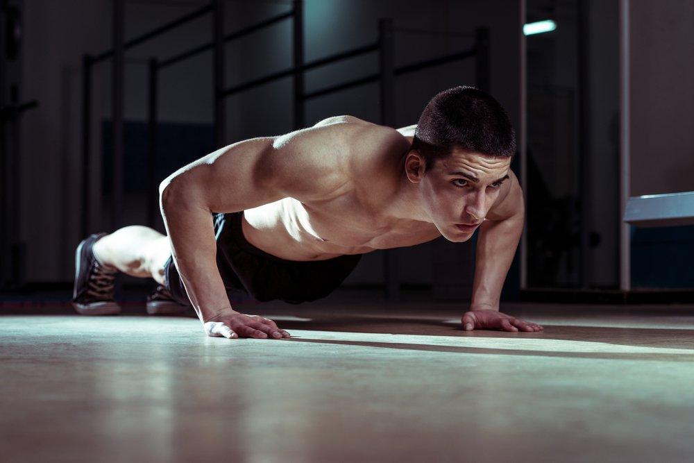 Как правильно отжиматься чтобы похудеть