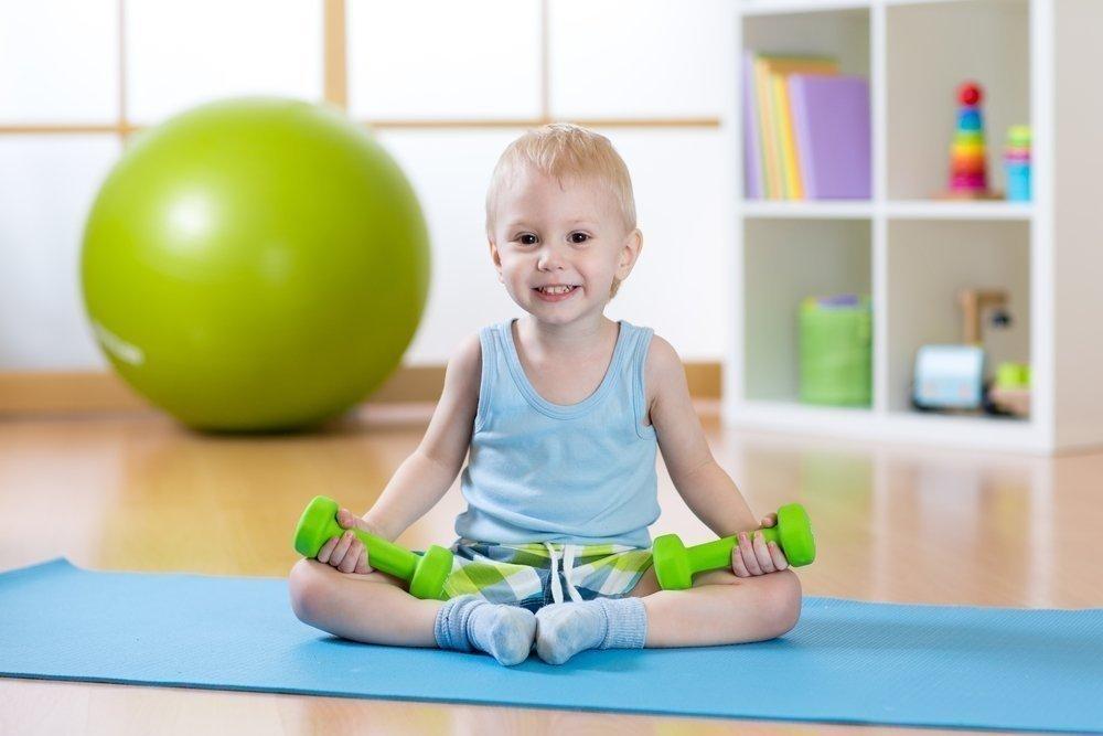 Физические упражнения детей картинки