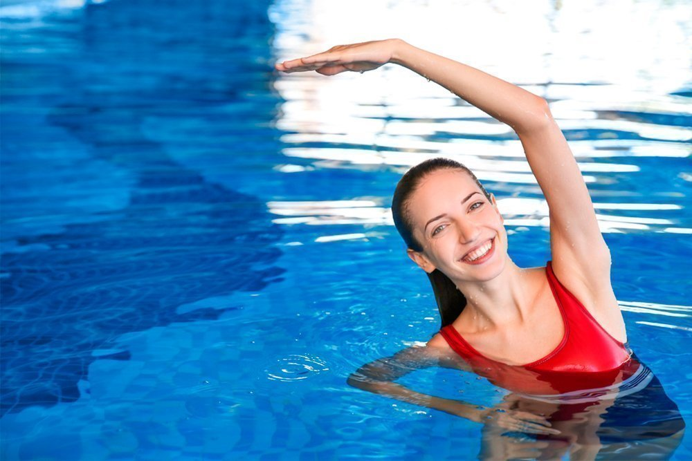 Плавание можно похудеть