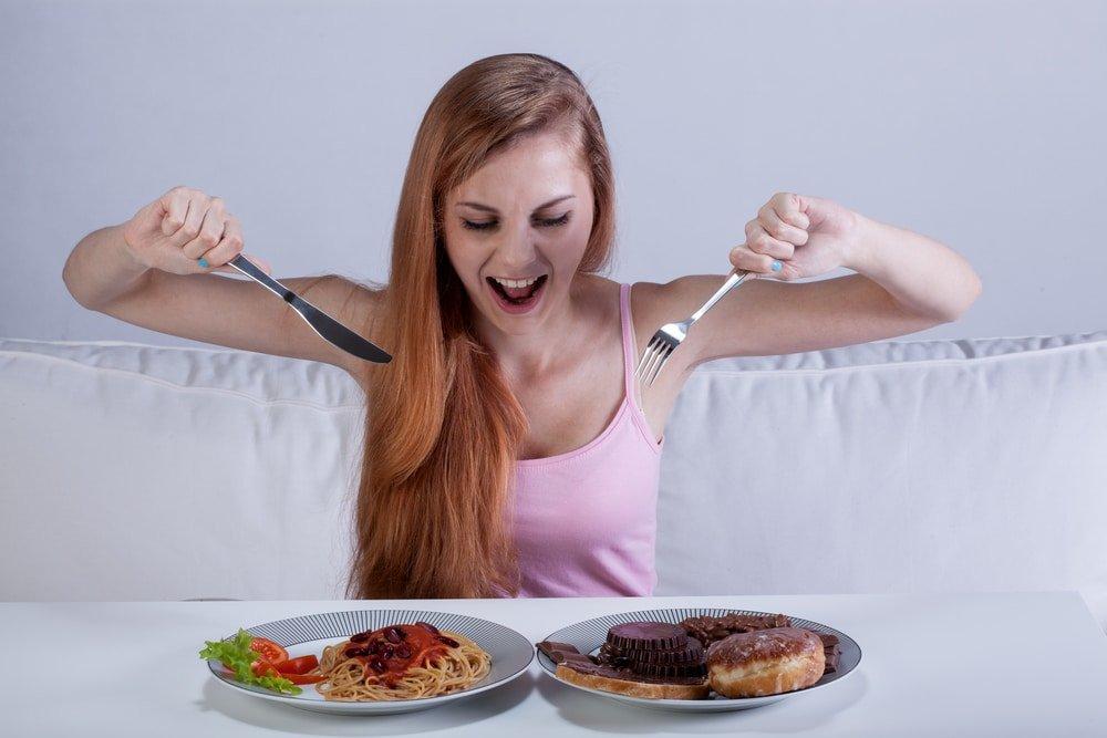 Как перебить чувство голода во время диеты