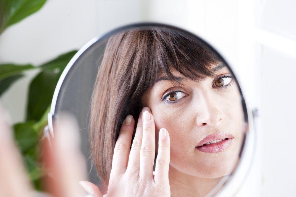 Правильный макияж, чтобы скрыть морщины