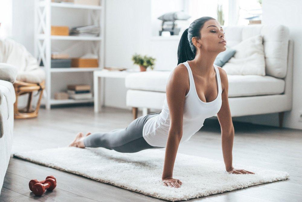 Домашние тренировки при похудении
