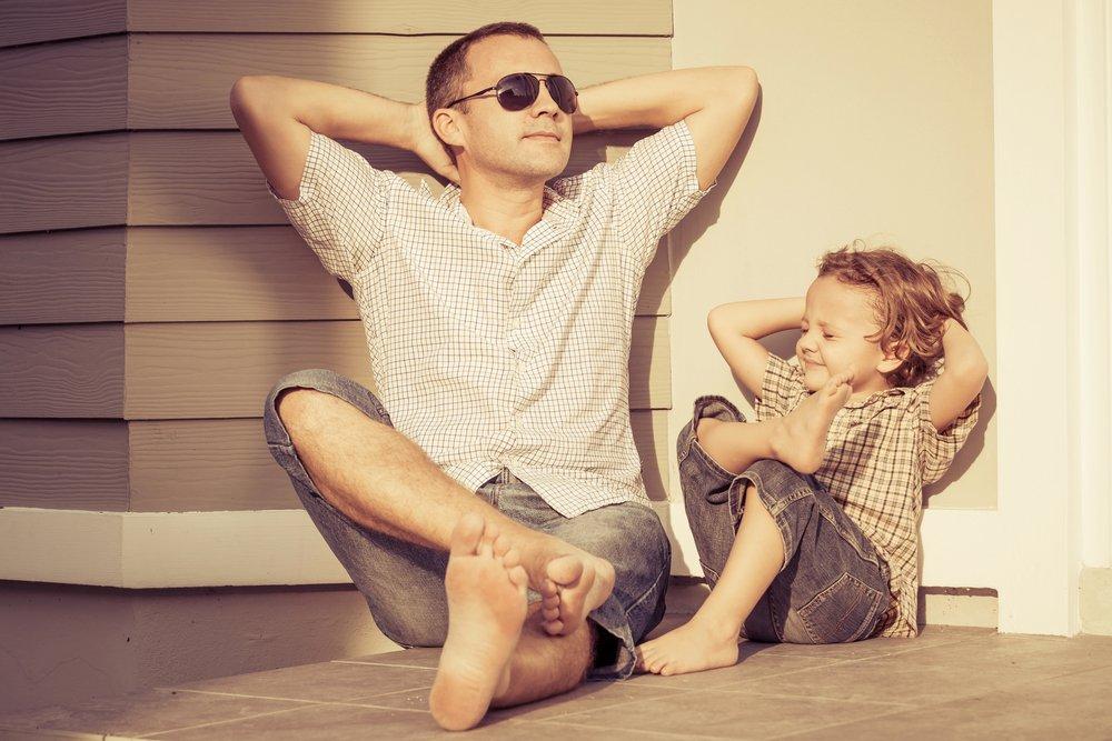 Родители пример для подражания картинки