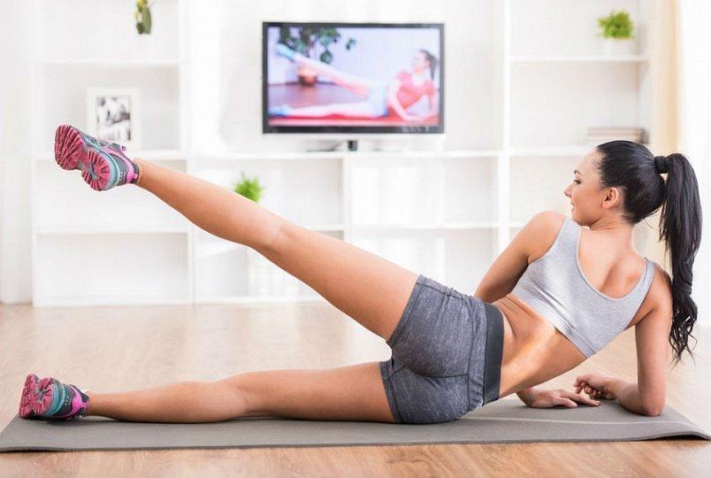 Занятия Похудение Видео. Фитнес-тренировка дома: видео-упражнения для похудения начинающих