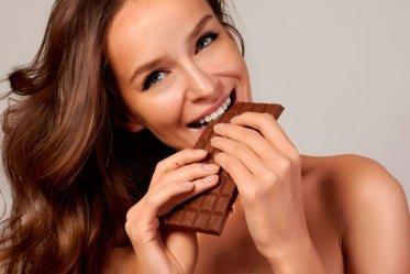Горький шоколад способствует похуданию