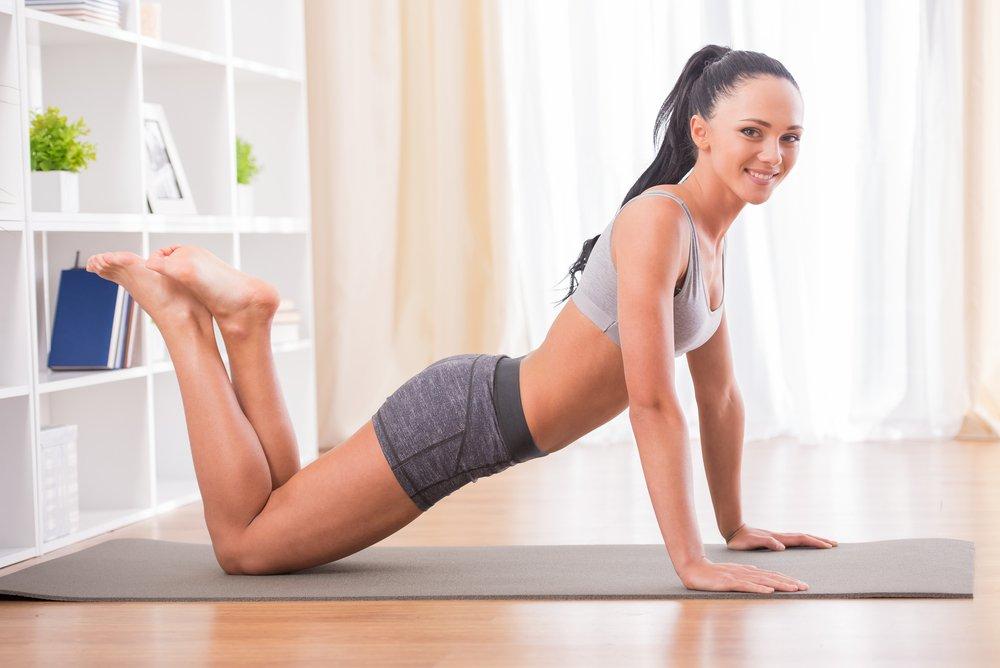 можете девушки делают упражнение онлайн он