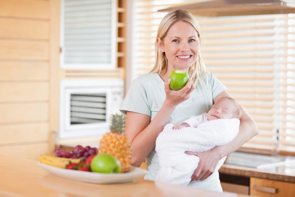 диета для мам новорожденных