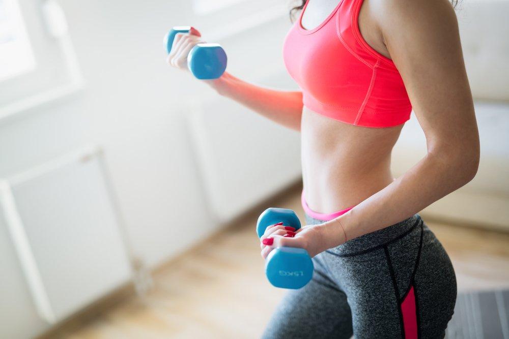 Фитнес похудение рук