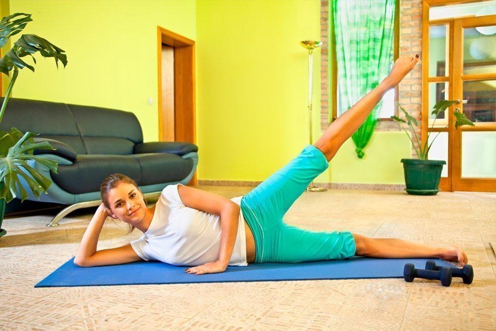 Спорт Для Похудения Начинающим. Упражнения для похудения в домашних условиях