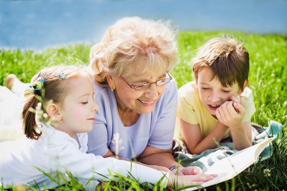 Новые отношения с молодой бабушкой