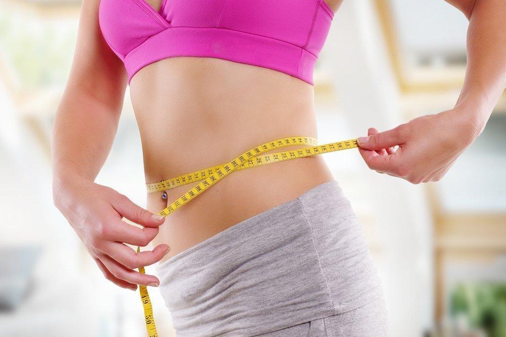 Сбросить вес в животе