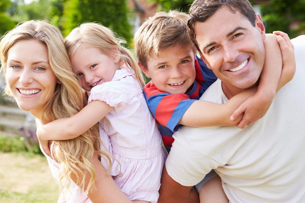 Картинки с изображением детей и родителей
