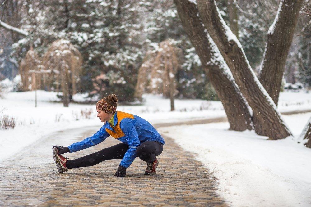 уже картинка бегущий человек зимой рос