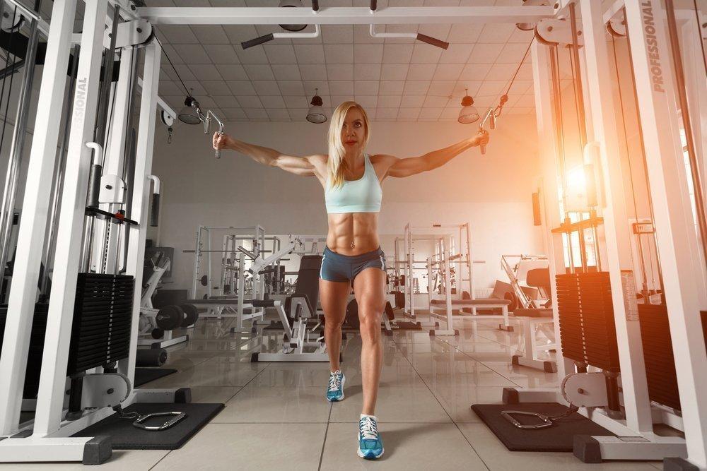 [BBBKEYWORD]. Программа тренировок для похудения в тренажерном зале для девушек
