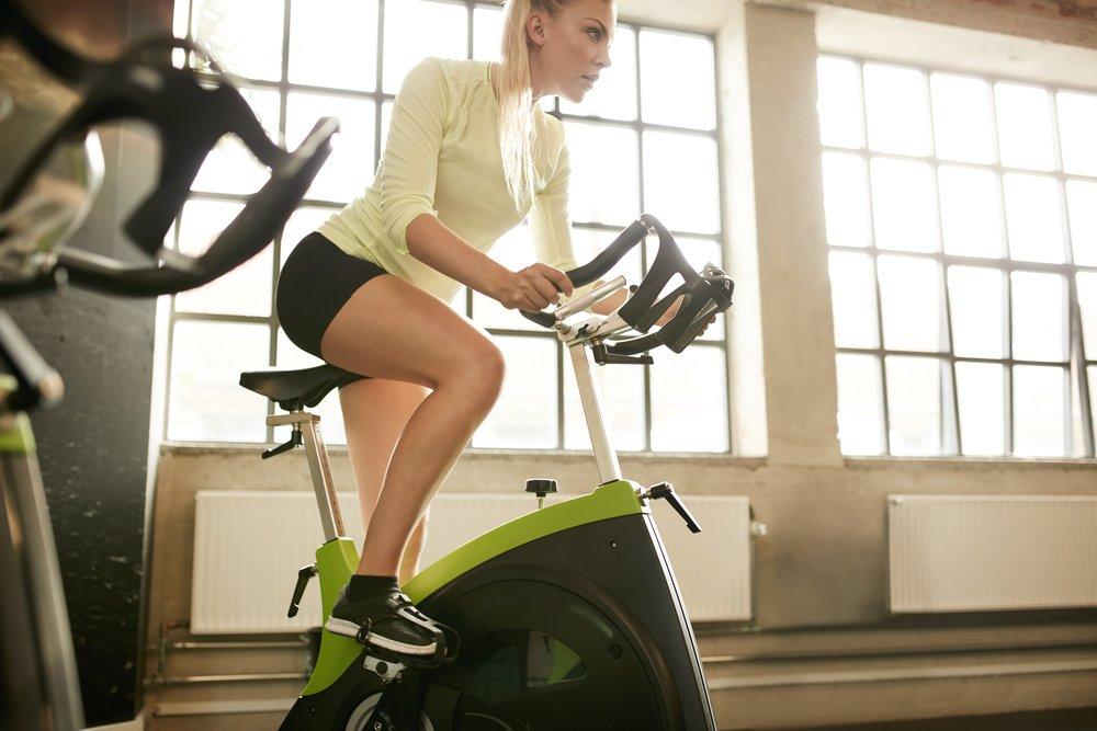 Как похудеть с велотренажер