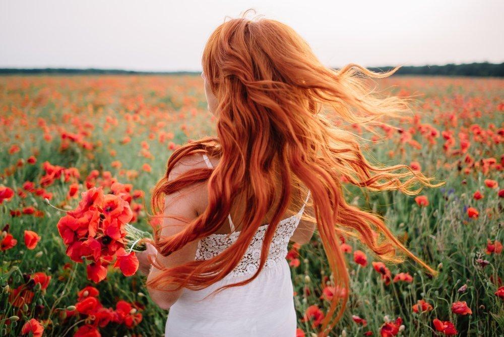 Окрашивание волос в рыжий: что важно знать?