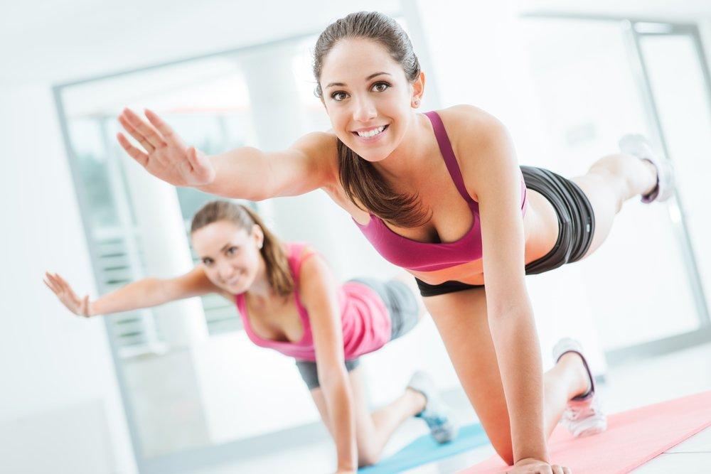 I урок фитнеса для похудения