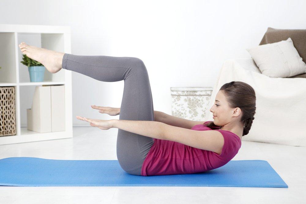 Упражнение для похудения видео