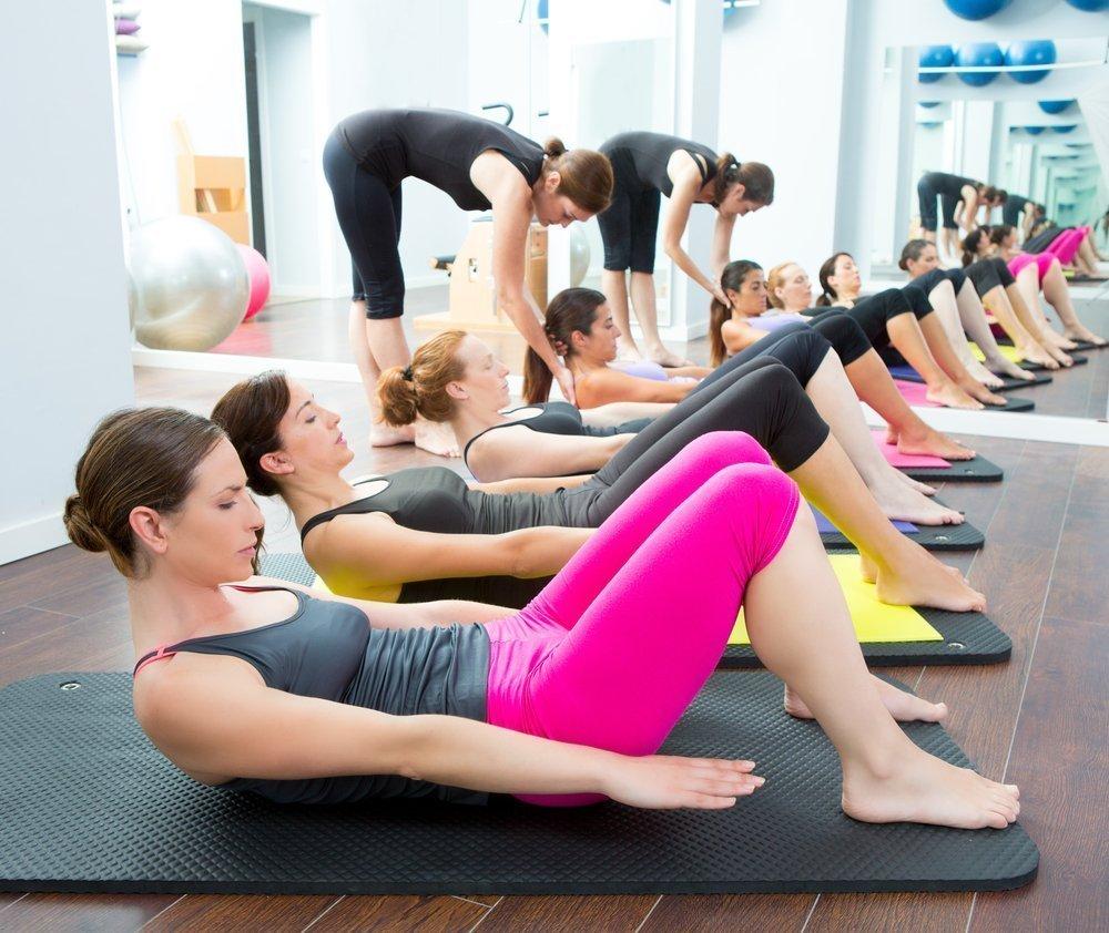 упражнения пилатеса в домашних для похудения