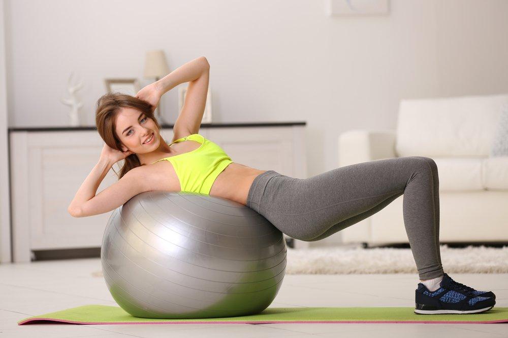 Фитнес дома для похудения пресс