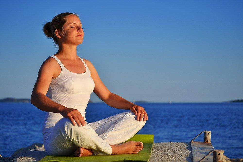 Дыхание йоги для похудения