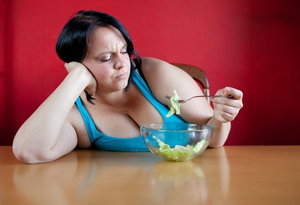 от диеты толстею