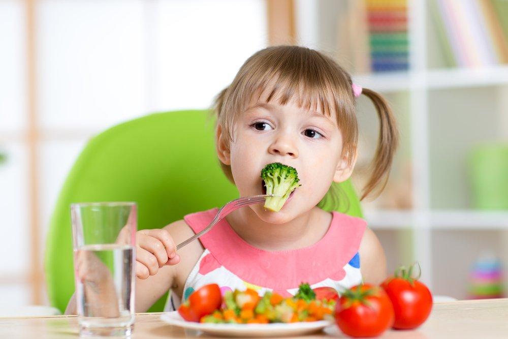 Правильная диета детям