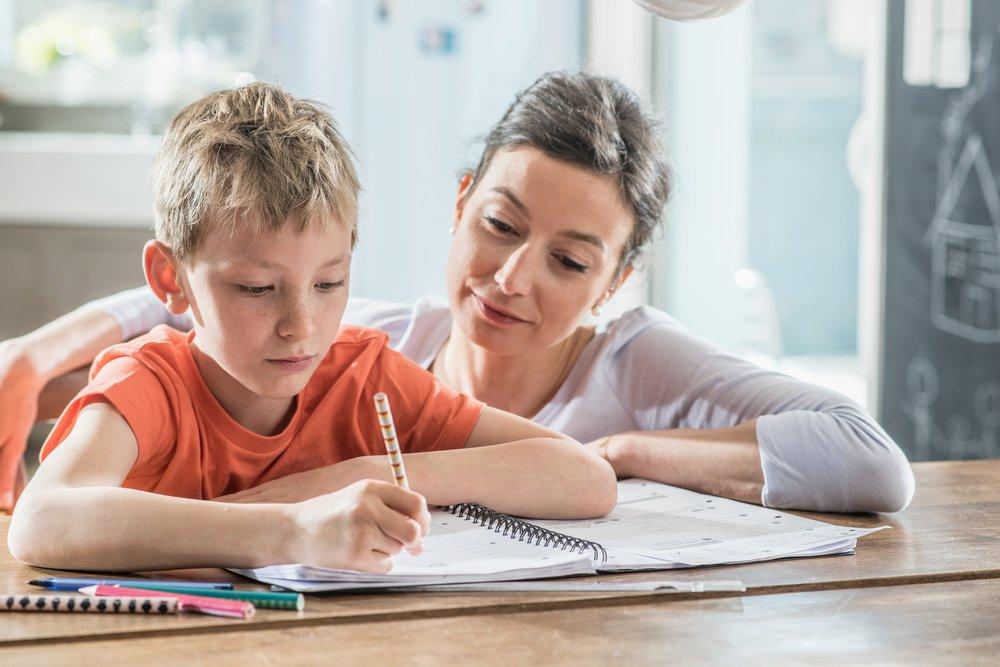 Дети и родители: выполнение домашнего задания