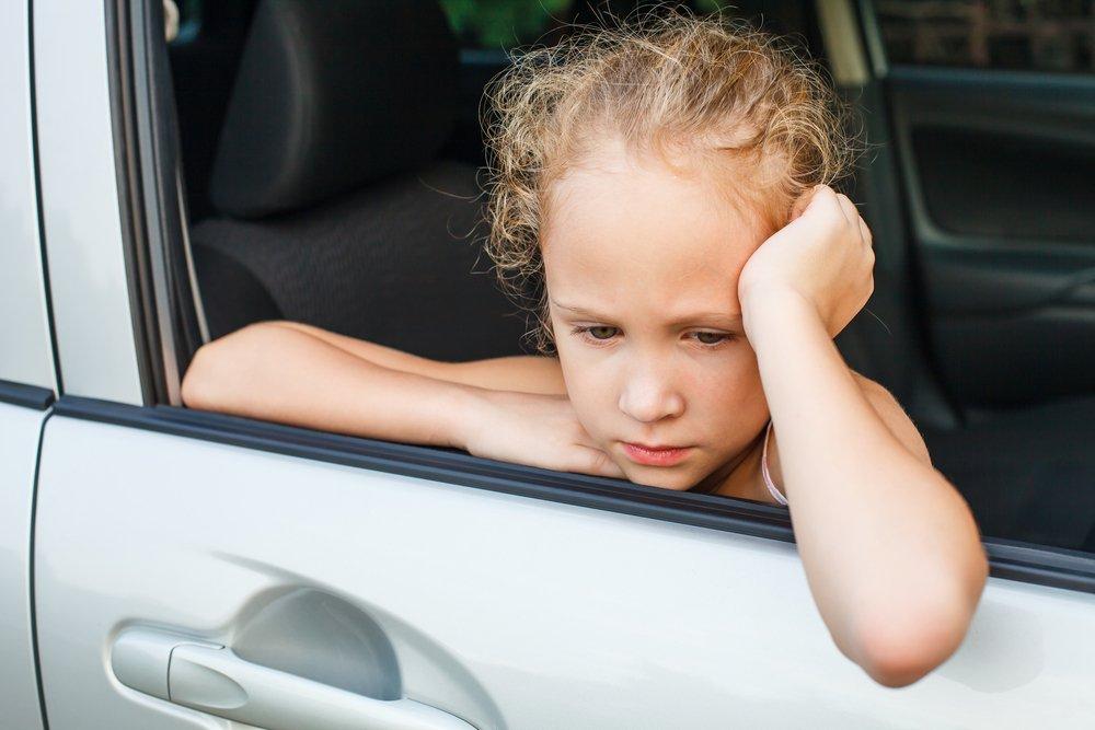 Укачивание: симптомы у детей