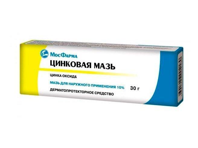 2. Цинковая мазь Источник: piluli.ru