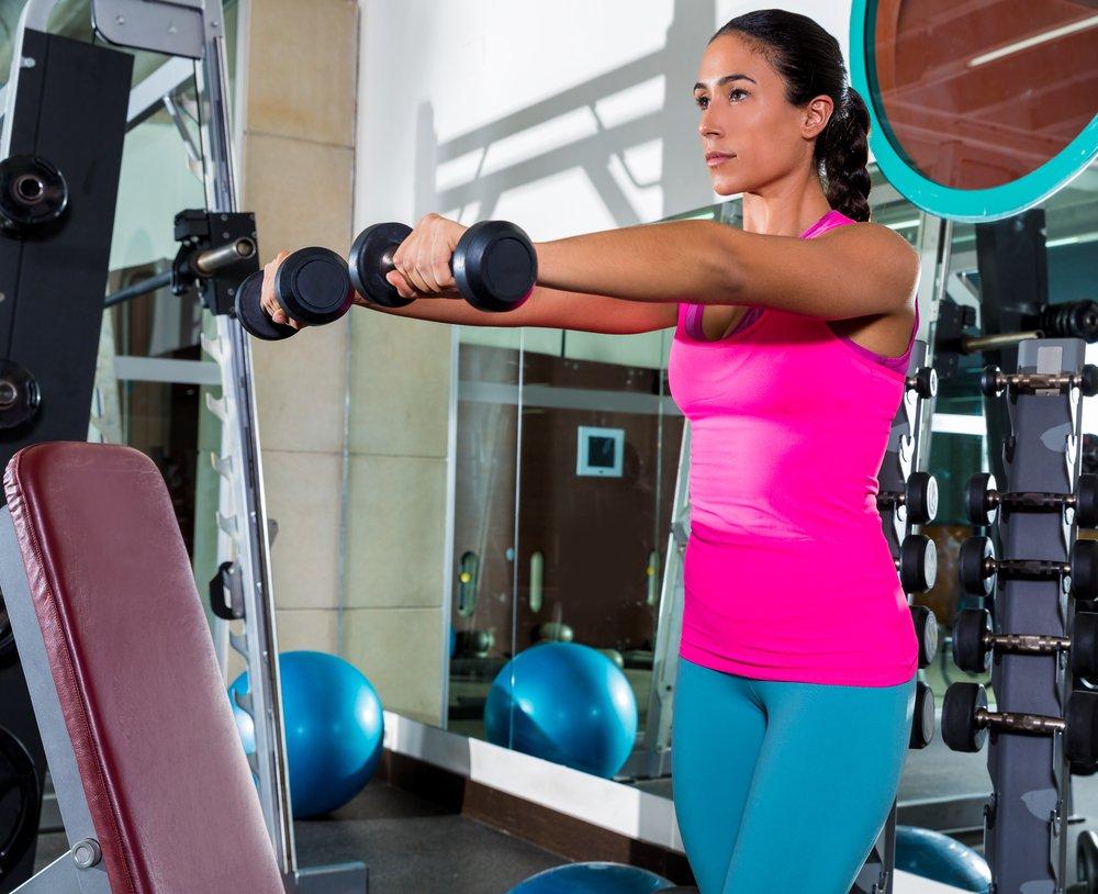 Физические упражнения на дельты