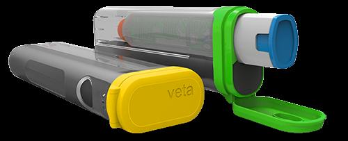 Чехол Veta для автоинъектора EpiPen. Фото с сайта: aterica.com.