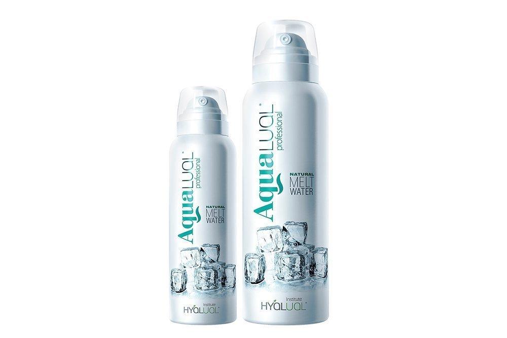 Спрей на основе талой воды и гиалуроновой кислоты от Aqualual