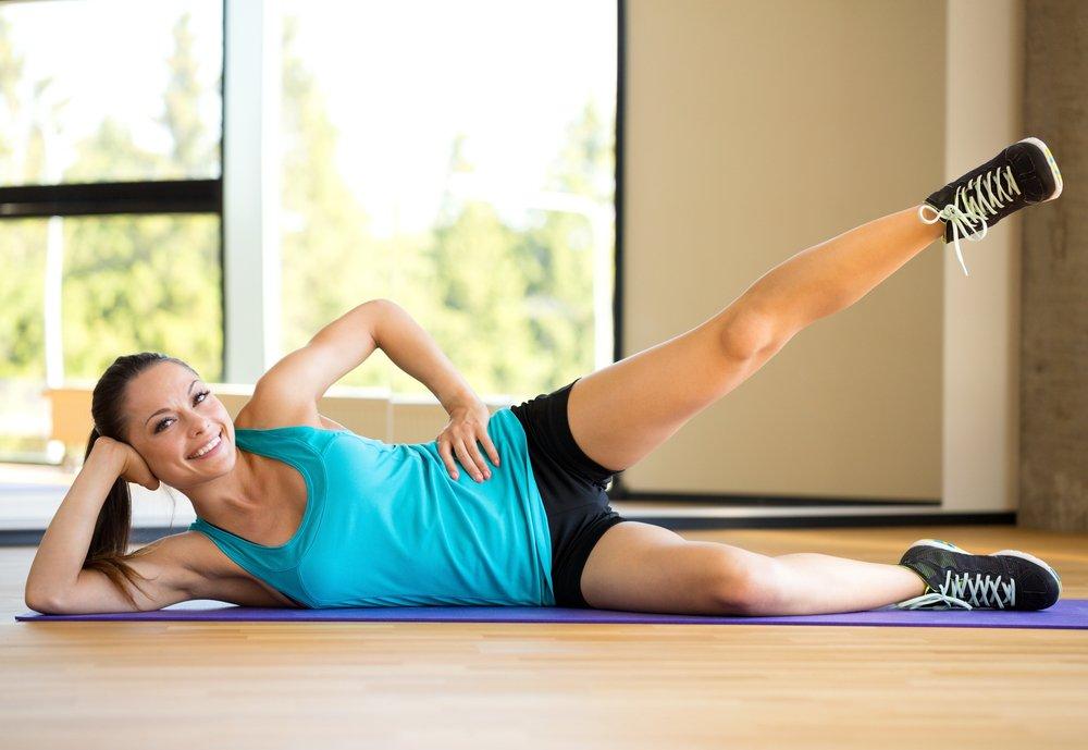 Растяжка и статические упражнения