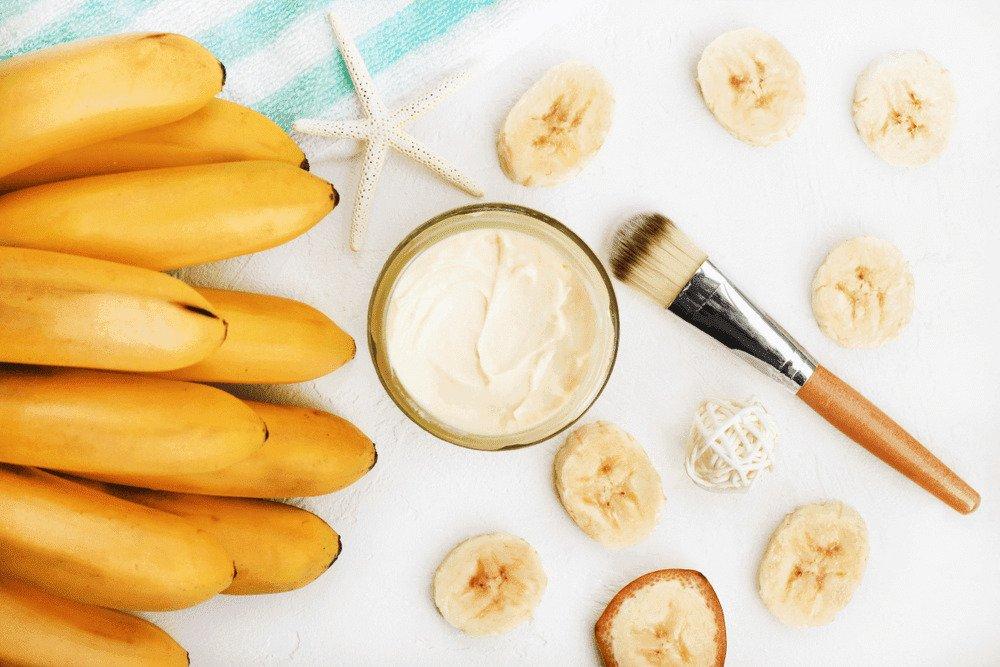 Если лицо шелушится: банановый уход