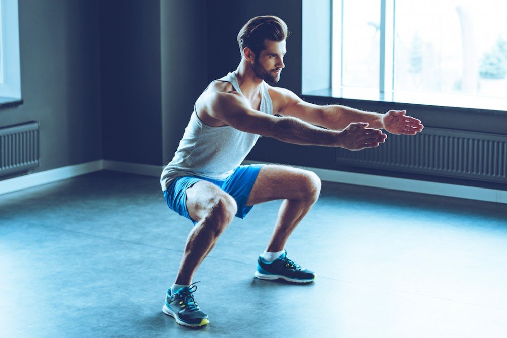 Польза занятий фитнесом на основе различных приседаний