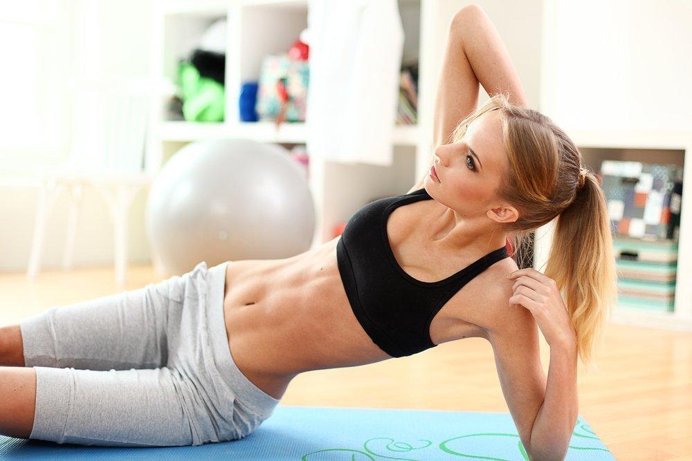Упражнения для укрепления мышц брюшного пресса
