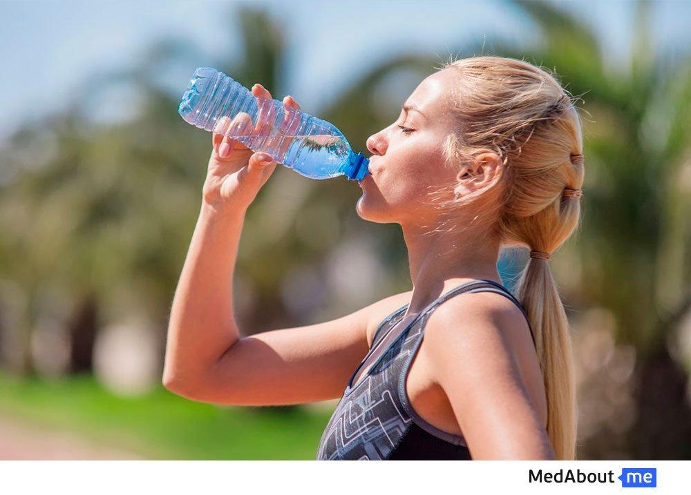 Питьевой режим взрослого человека