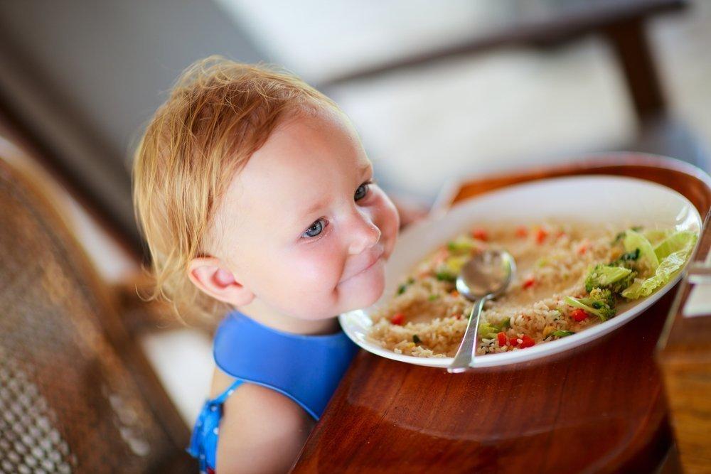 Белок в питании детей после года