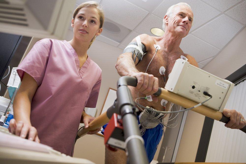 Прохождение программы кардиореабилитации