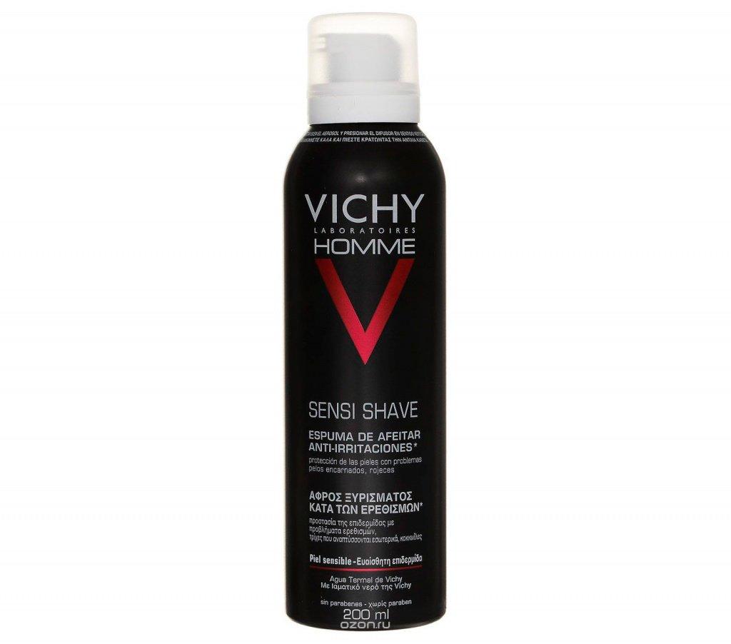 Пена для бритья Vichy Homme для кожи, склонной к покраснению Источник: ozon-st.cdn.ngenix.net