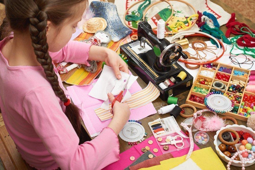 Уроки рукоделия для девочек