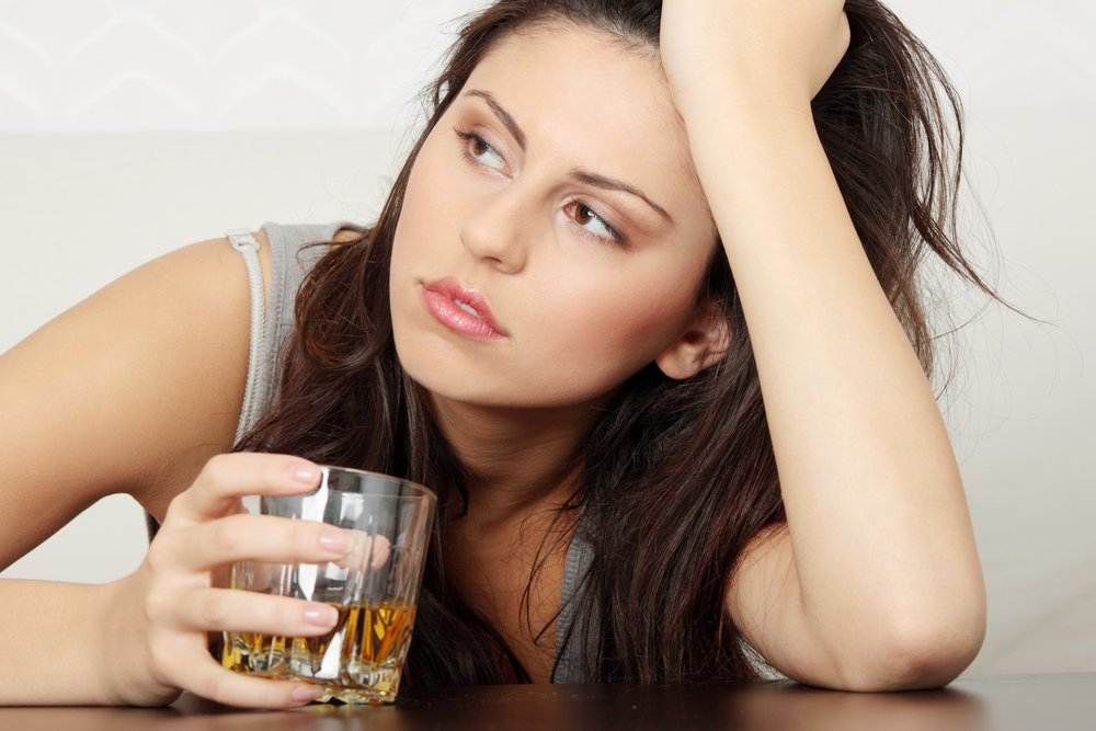 Привычки поведения пьющих женщин