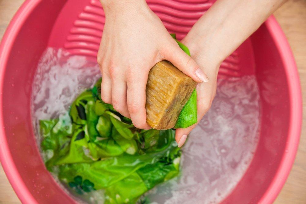 Хозяйственное мыло — вариант для аллергиков и новорожденных детишек