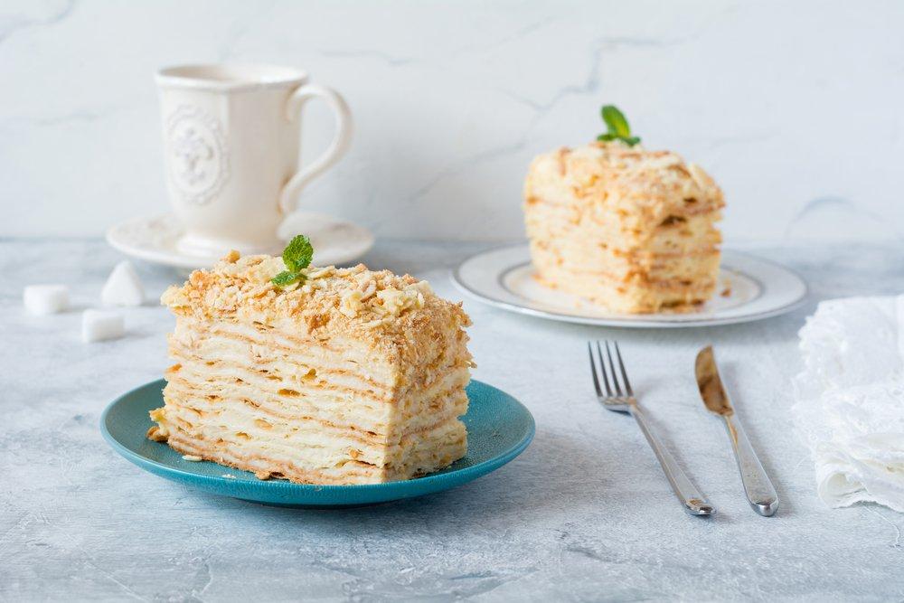 Сладкий десерт «Наполеон»: немного истории