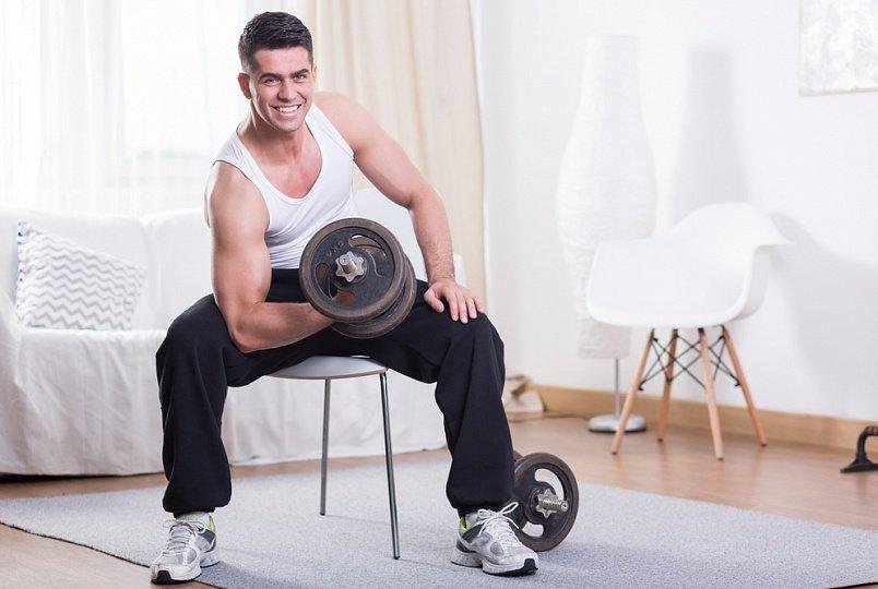Фитнес дома: комплекс для бицепса