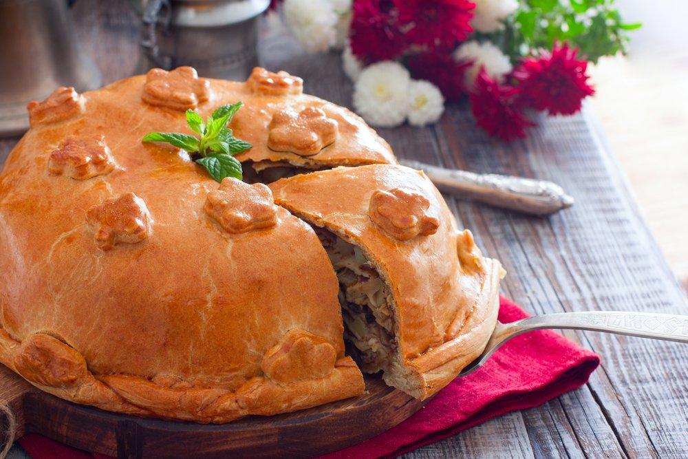 Рецепт приготовления курника с картошкой