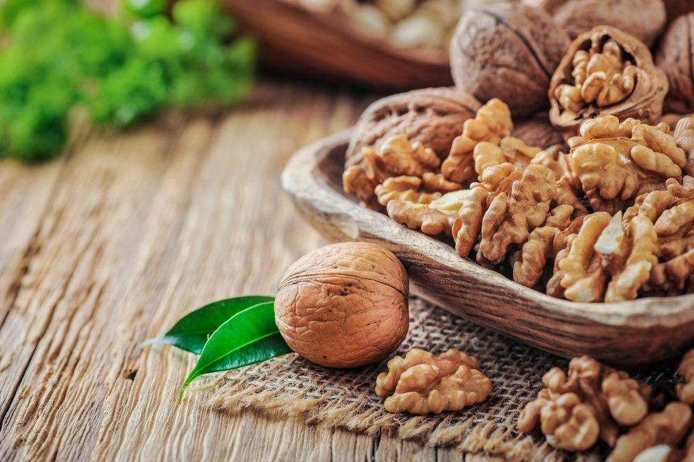 Грецкие орехи: полезные жиры