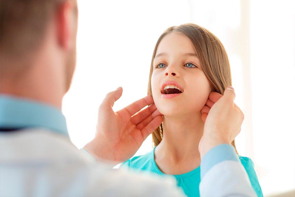 Лимфоузлы у детей: норма и лимфаденопатия
